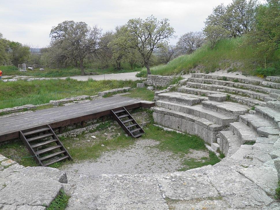 Hadrianic Odeon in Troy IX (Ilion).Turkey (3)
