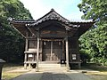 Haiden of Suga Shrine in Munakata, Fukuoka.jpg