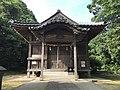 Haiden of Suga Shrine in Munakata, Fukuoka.jpg