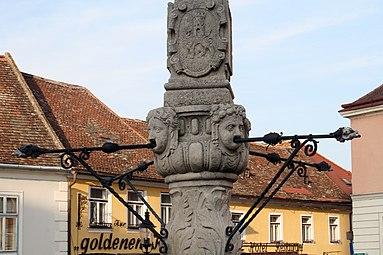 Hainburg an der Donau Haydnbrunnen 2011.jpg