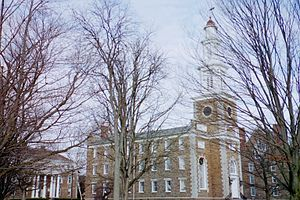 Hamilton College Chapel - Southern Side of the Hamilton College Chapel