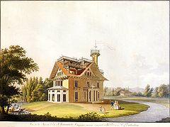 Putjatinsches Landhaus, 1811 (Quelle: Wikimedia)