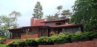 Hanna–Honeycomb House - Frank Lloyd Wright's Hanna House