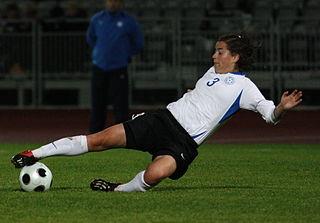 Hannaliis Jaadla Estonian footballer