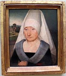 Hans Memling: Portrait of a Elderly Lady