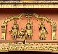 Hanuman temple Mudbidri Karnataka, from left Lakshmana Hanuman Rama Sita.jpg