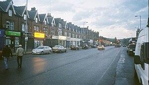 A58 road - Image: Harehills Parade