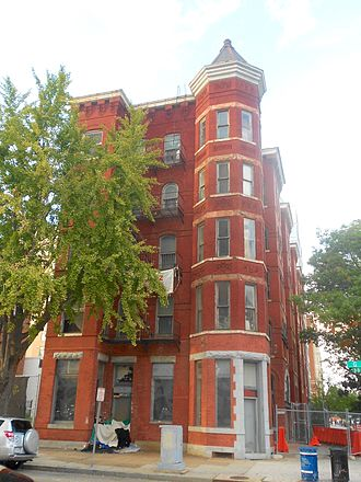 Harrison Apartment Building - Image: Harrison Apt Blg 3rd and G NW DC