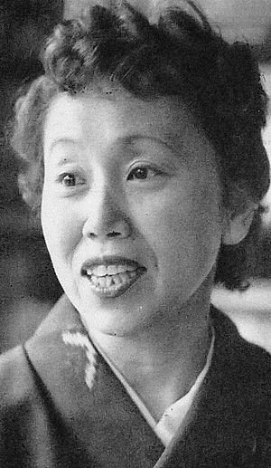 Haruko Sugimura - Haruko Sugimura in May 1953.