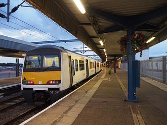 Dutchflyer - An Abellio Greater Anglia train at Harwich station