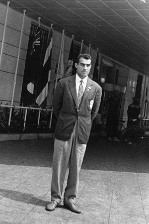 Hassan Pakandam - Image: Hassan Pakandam, Third Asian Games, Tokyo, Japan, 1958