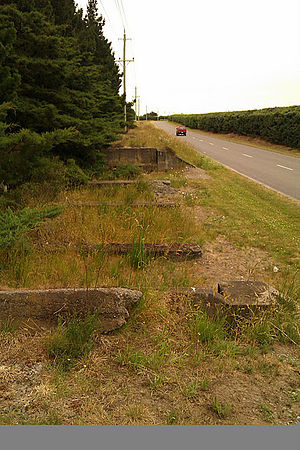 Methven Branch - Hatfield ford bridge abutments