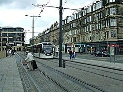 Haymarket tram stop (geograph 4017622).jpg