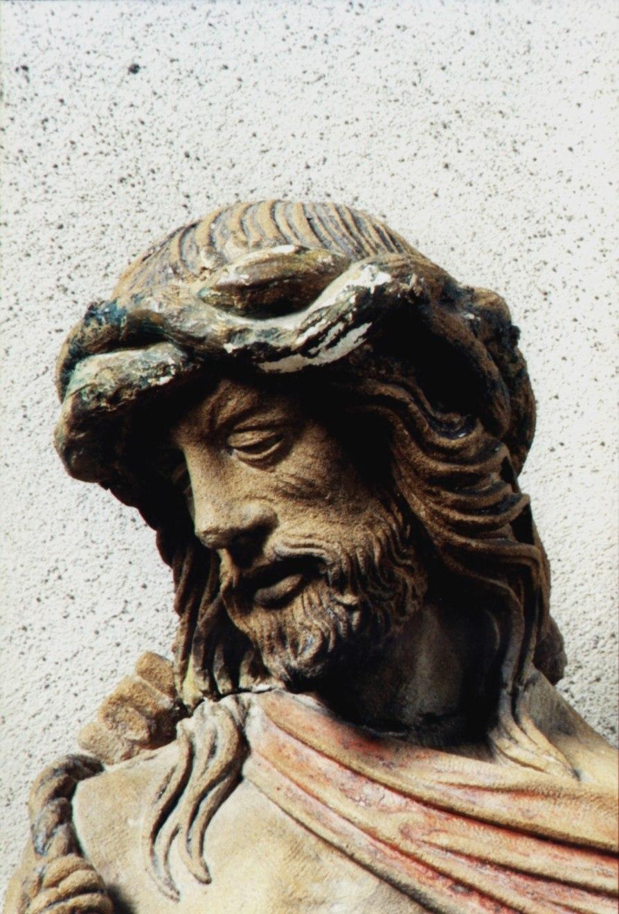 Head of Jesus by Ligier Richier