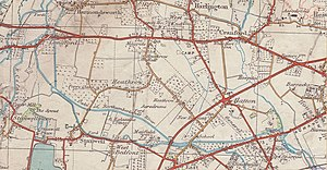 Hatton, London - Heathrow and around, at approximately 1935
