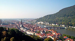 Image of Heidelberg from Castle