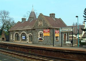 Belfast and County Down Railway - Helen's Bay railway station