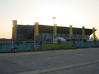 Hellinikon Olympic Complex - Exterior view of the Hellinikon Indoor Arena