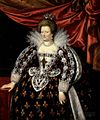 Henner, Giovanni Lionardo (after Pourbus) - Portrait of Maria de' Medici, Queen of France.jpg