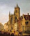 Henri Lallemand - Sint-Niklaaskerk in Gent.jpg