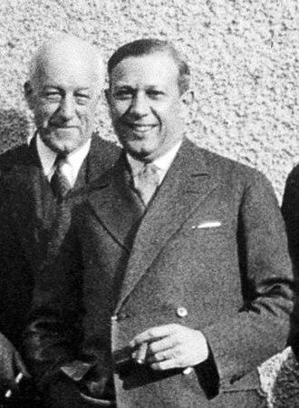 Henry E. Sigerist - Henry E. Sigerist in 1929