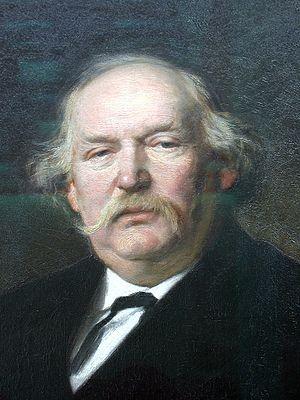 Hermann Heinrich Becker - Hermann Heinrich Becker by Julius Schrader, 1878