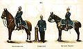 Herzoglich Gothaische Gendarmerie 1911 blauer Rock Helm nach preußischer Art.jpg