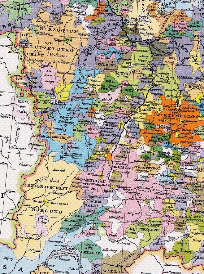 Herzogtum Lothringen 1400