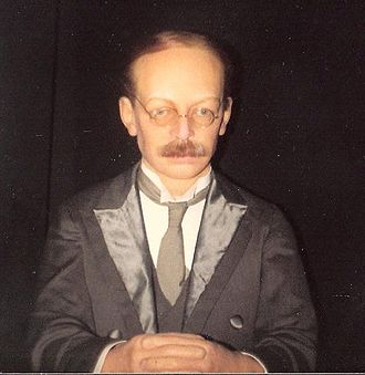 Hawley Harvey Crippen - Waxwork of Crippen in the Chamber of Horrors at Madame Tussauds in London