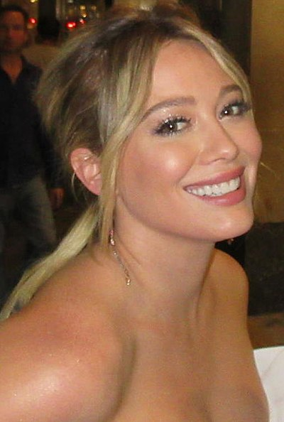 Hilary Duff, American actress and singer