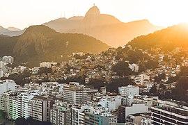Hills of Rio de Janeiro by sunset.jpg