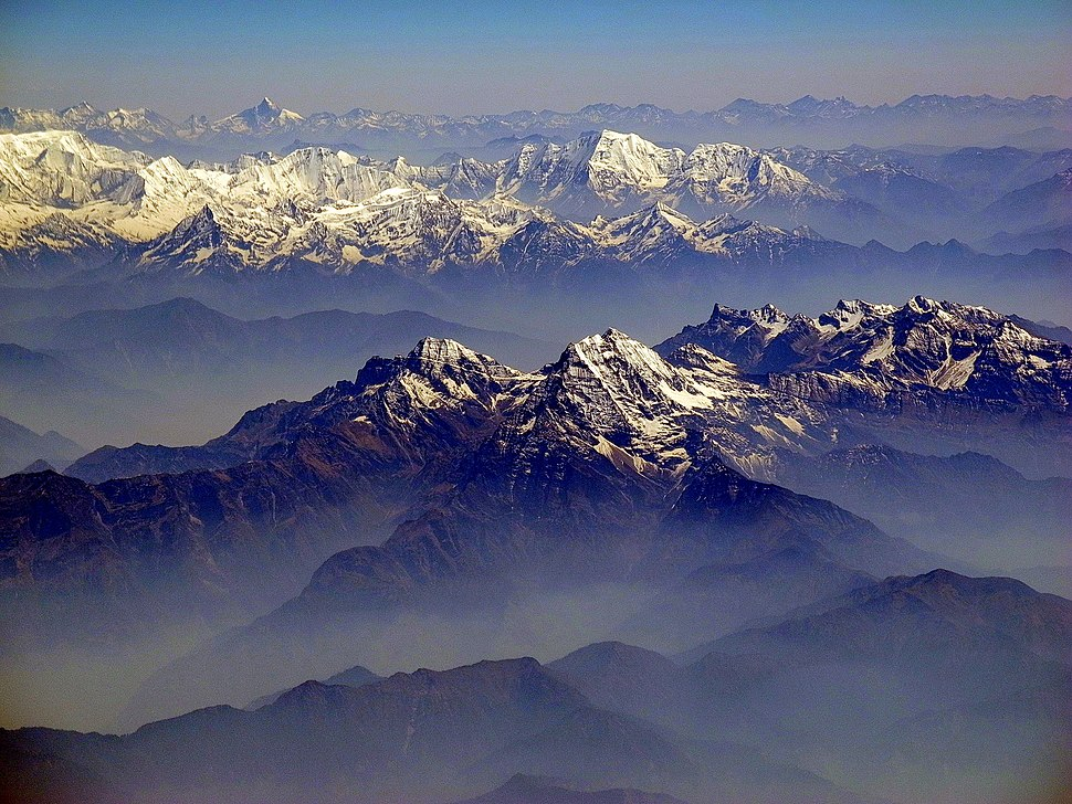 Himalaya sud avion