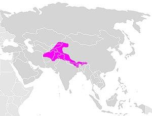 Himalayan brown bear - Image: Himalayan brown bear area