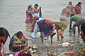 Hindu Devotees Taking Holy Dip In Ganga - Makar Sankranti Observance - Kolkata 2018-01-14 6610.JPG