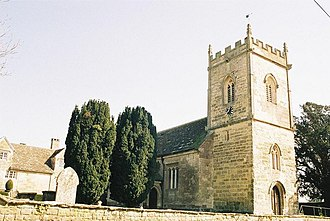 Hinton St Mary - Image: Hinton St. Mary, parish church of St. Peter geograph.org.uk 513003