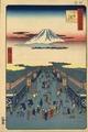 Hiroshige Hundred views Edo 8 Suruga-chō (する賀てふ).tif