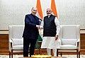 His Highness Prince Karim Aga Khan calls on the Prime Minister, Shri Narendra Modi, in New Delhi on February 21, 2018 (2).jpg