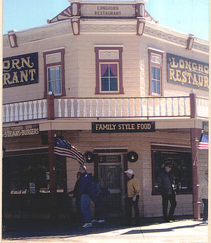 Morgan Earp - Image: Historic Longhorn Restaurant