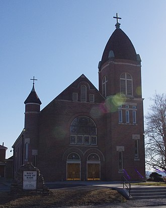 Rolling Fork (Kentucky) - Holy Name of Mary Church (Calvary, Kentucky)