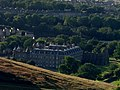 Holyrood palace from Arthur's Seat - geograph.org.uk - 58175.jpg