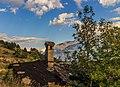 Homene Dessus, Combellin, Valle d'Aosta. Detail van oud huis 04.jpg