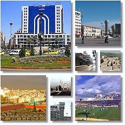 Homs city landmarks The City centre and the Old Clock Tower  • the New Clock Tower Square  • Dablan Street  • Krak des Chevaliers  • Khalid ibn al-Walid Stadium  • Khalid ibn al-Walid Mosque  • the New Clock Tower  • City landscape from Rooftops