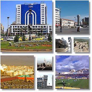 Homs city landmarks City centre and the Old Clock Tower • New Clock Tower Square • Dablan Street • The church of lady of peace • Krak des Chevaliers  • Khalid ibn al-Walid Stadium • Khalid ibn al-Walid Mosque • New Clock Tower • Saint Mary Church of the Holy Belt • City landscape from Rooftops