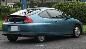 Honda Insight Back