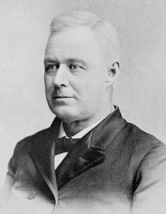Cross of Gold speech - Former Iowa Governor Horace Boies was a major contender for the Democratic nomination for president in 1896.