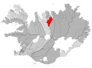 Hjalteyri - Image: Horgarsveit map
