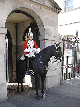 Life Guards (United Kingdom) - mounted, with cuirass