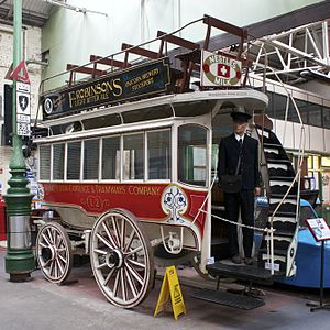 Manchester Carriage and Tramways Company - L2 at the Museum of Transport, Greater Manchester.