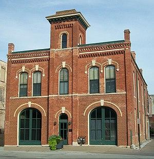 Hose Station No. 1 - Image: Hose Station No. 1 (Davenport, Iowa)