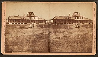 Fort Custer (Montana) - Hospital at Fort Custer